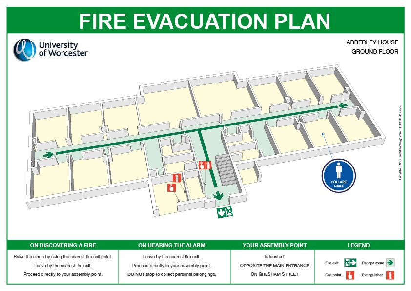 3D Fire Escape Plan
