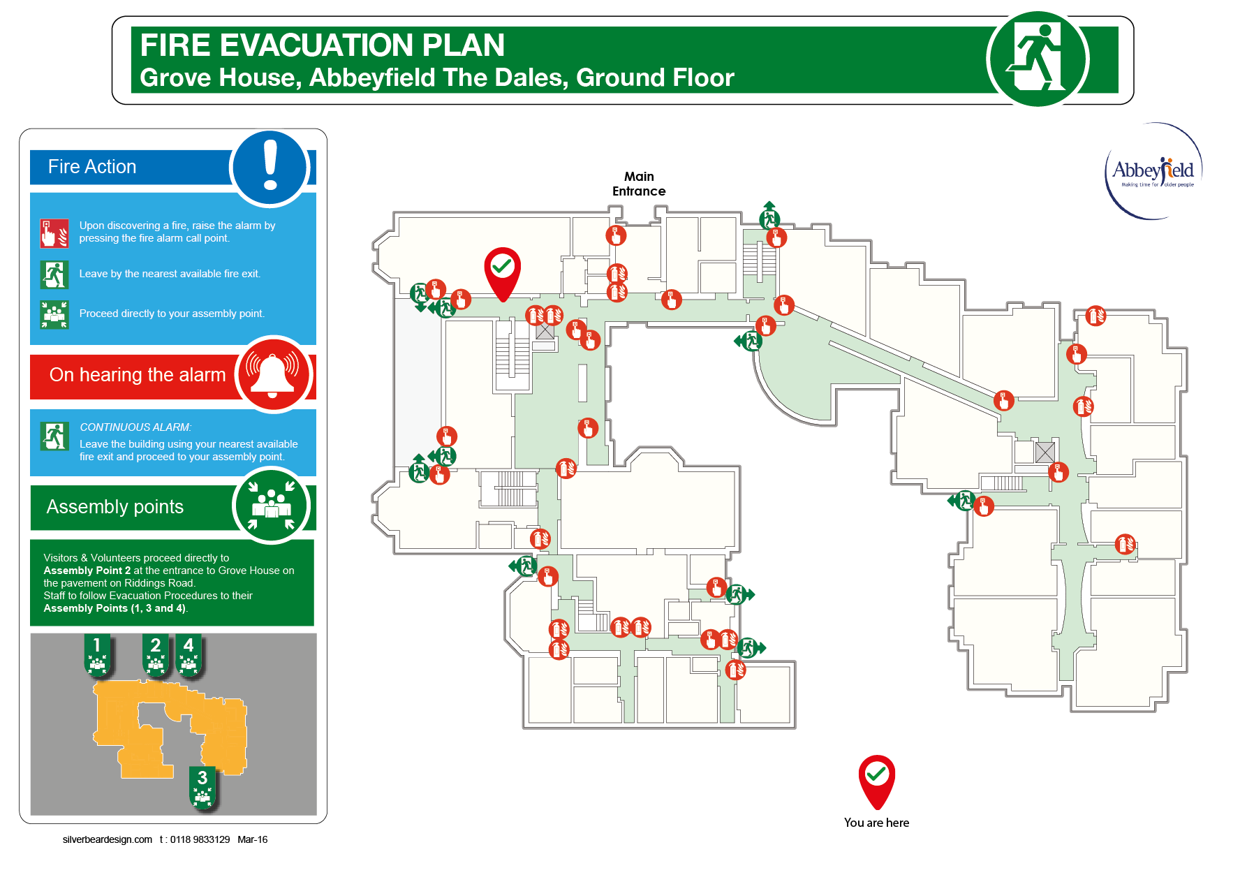 Care Home Evacuation Plan