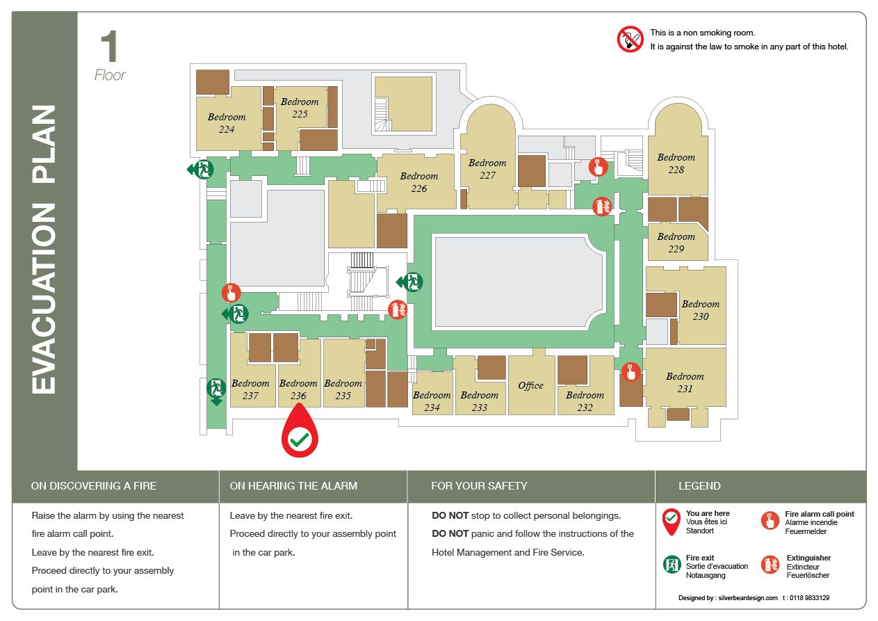 Evacuation Plans For Hotels And Guest Houses Silverbear