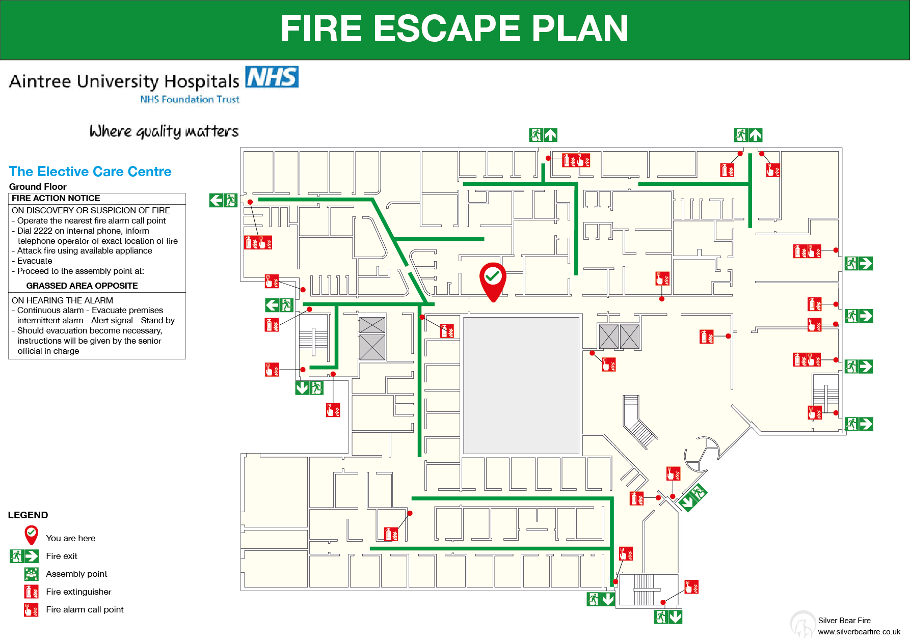 NHS Evacuation Plan