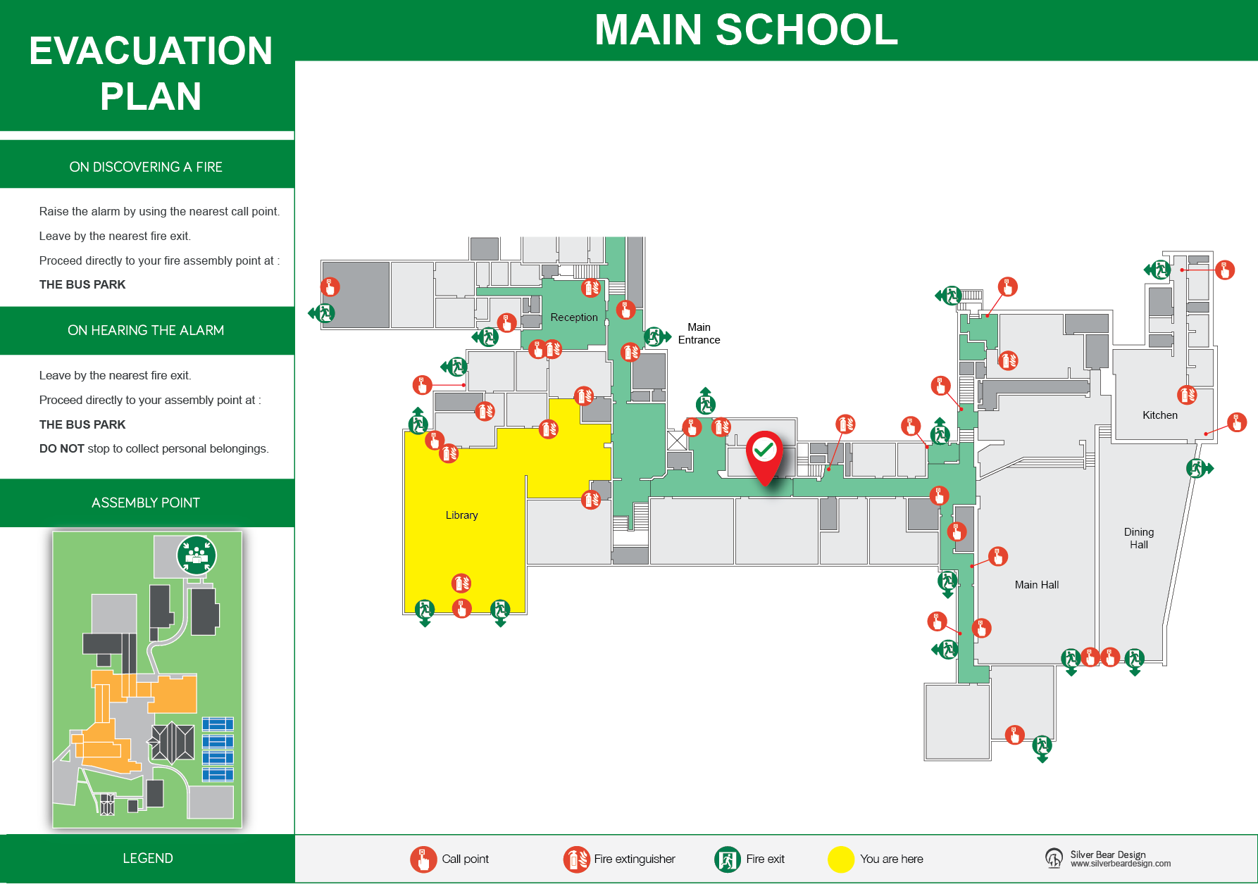 emergency fire evacuation plans for schools colleges