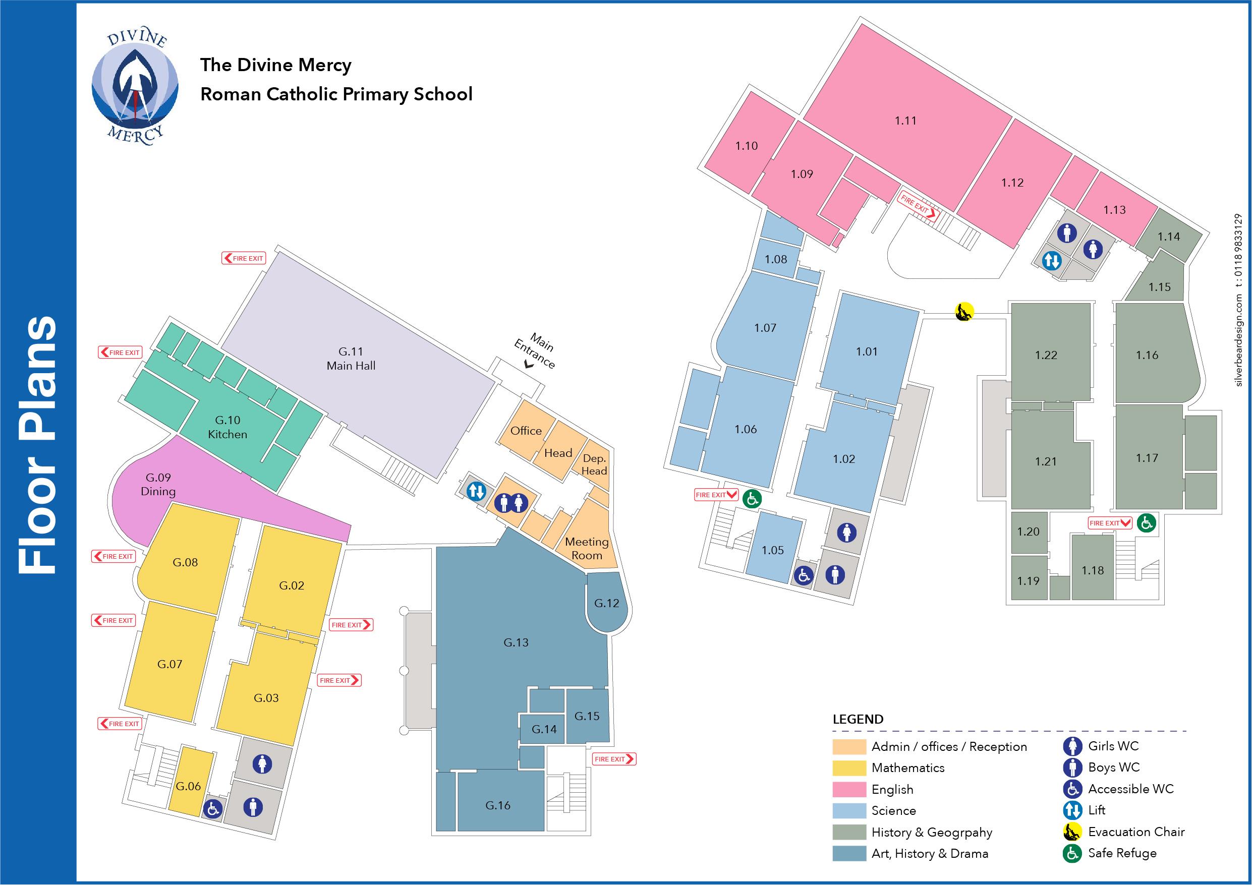 School Floor Plan 2