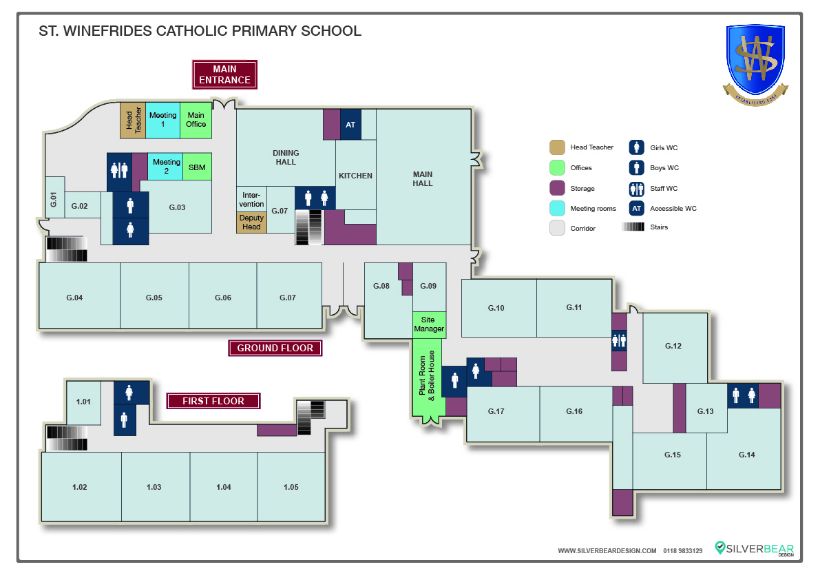 School Location Map 2-80