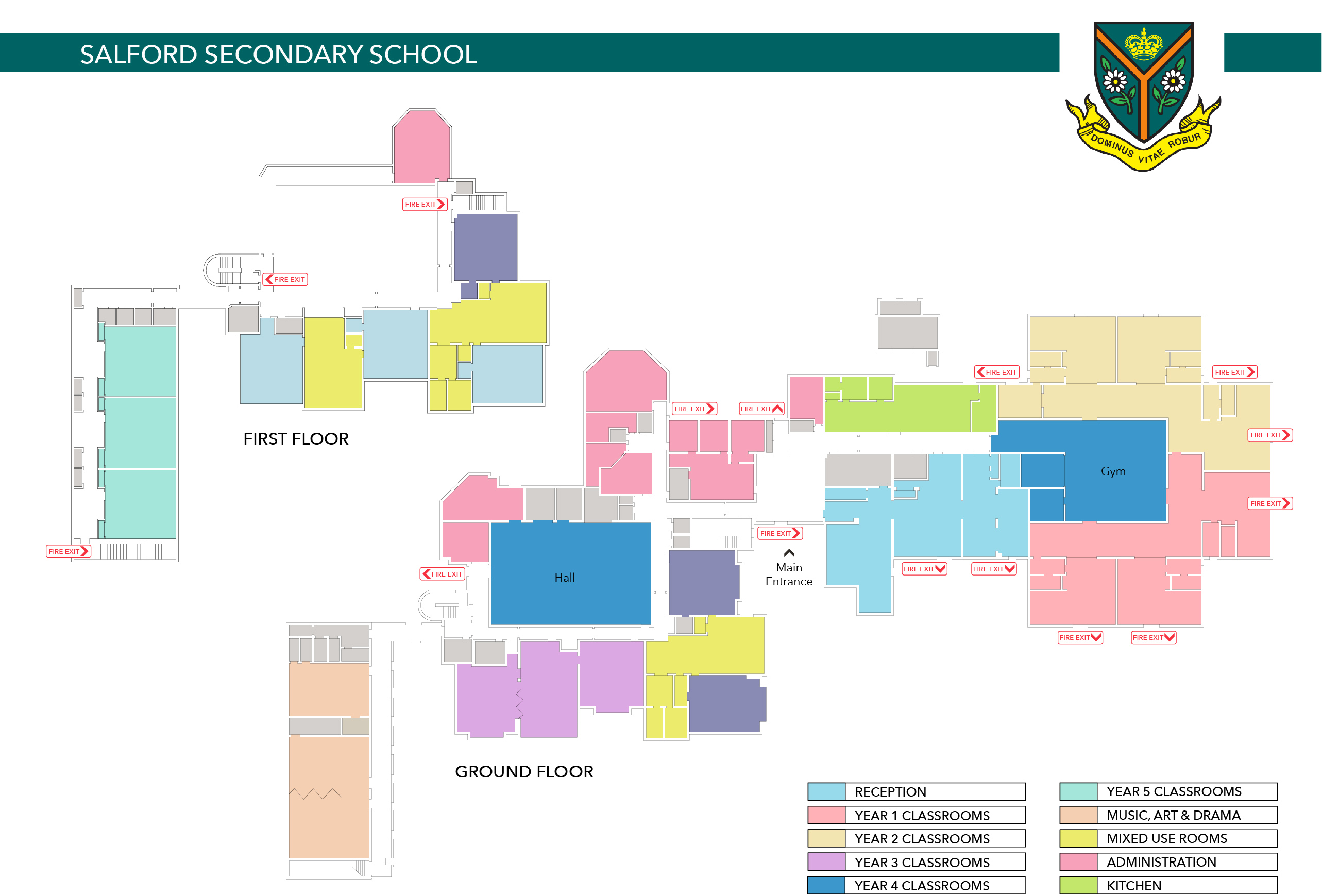 school location plan